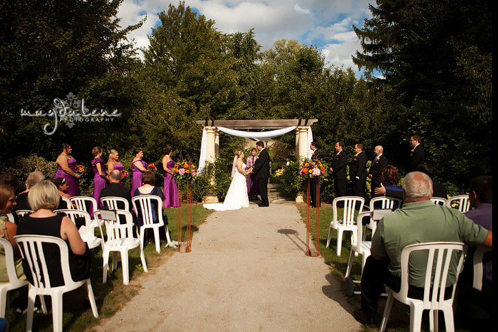 Paine Art Center Wedding Ceremony