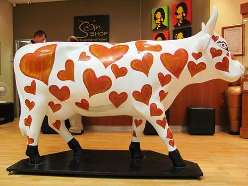 4 legs cow