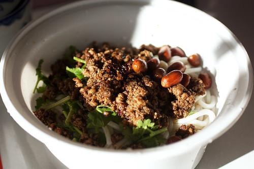 cold noodles @ yun nan flavour snack