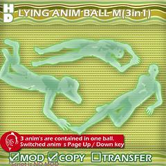 LYING anim ballM