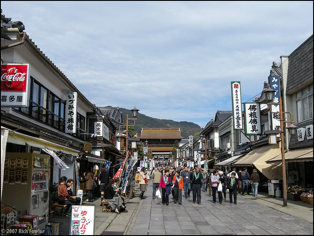 Zenkoji Temple, Shopping Area