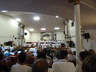 Foto de una Misa Gospel en Harlem (Nueva York)