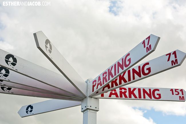Parking sign in Christchurch | How to spend 48 hours in Christchurch | What to do in 2 days in Christchurch | Christchurch New Zealand Travel Photography