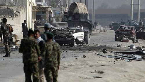 A bomb blast in Afghanistan where an ongoing US-led occupation has devastated the cities and rural areas of this central Asian state. Obama says that he is winding down the war yet people are dying everyday. by Pan-African News Wire File Photos