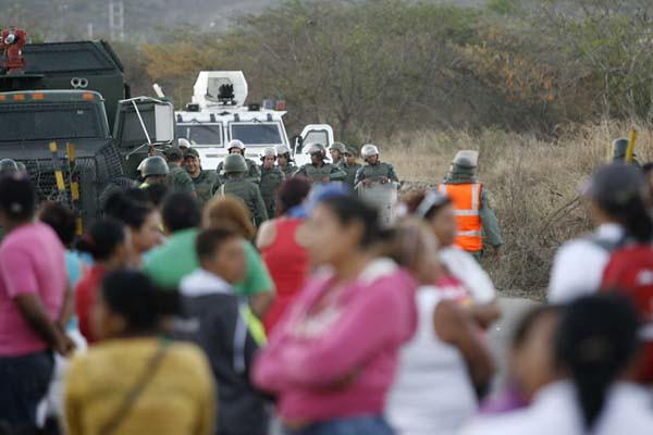 Situación de violencia en Uribana.