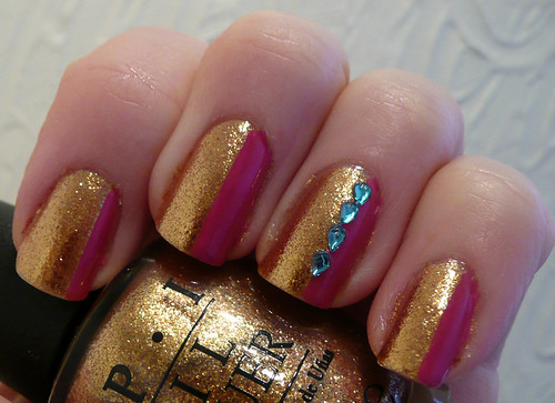 pink gold gems 3