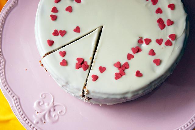 Himbeer-Schoko Swirl Kuchen