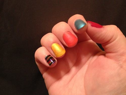 Matte Skittles and Striped
