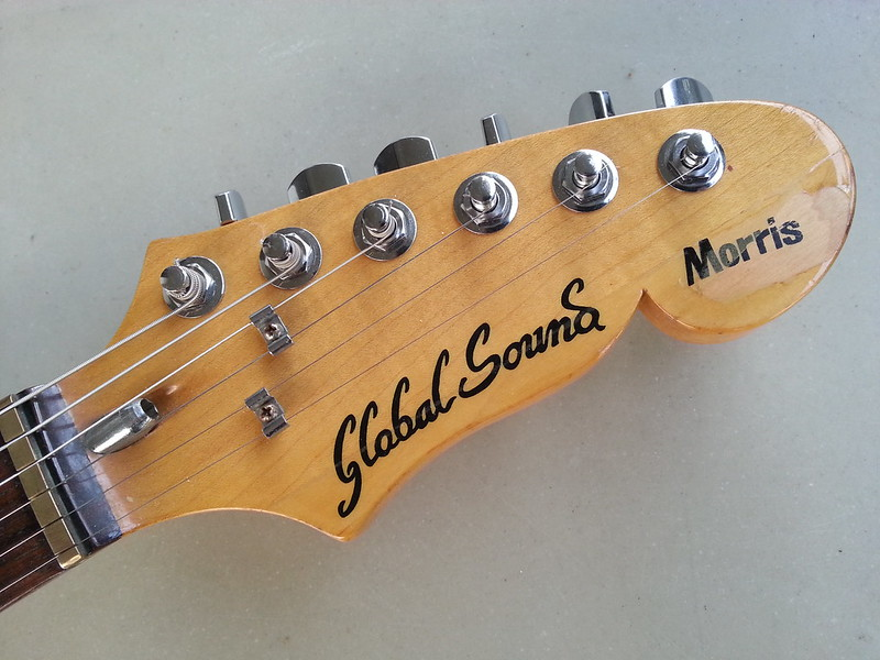 guitare Morris Global Sound de 1984 (crosse)