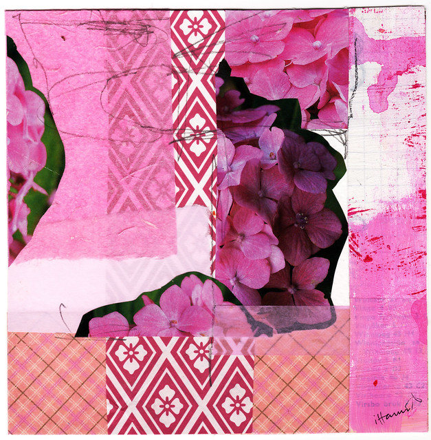 Collage: Pink Thoughts I