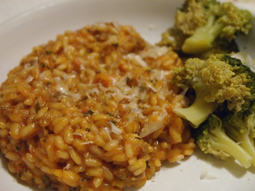 Risotto Rosso with Sausage - 4