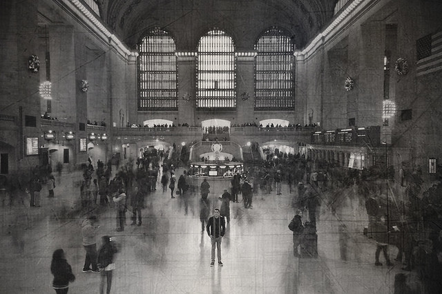 Daguerreotype at Grand Central Station