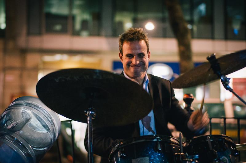 Street Drummer.