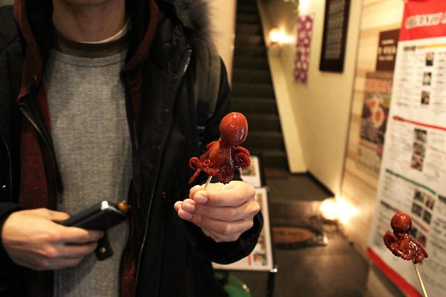 Octopus, Kyoto