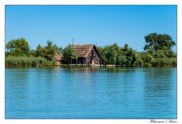 Fisherman's House in the lagoons of Caorle