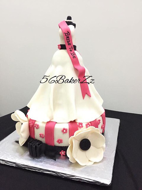 Bride to be Cake by Erum Shoaib Dinar of 56 BakerZz