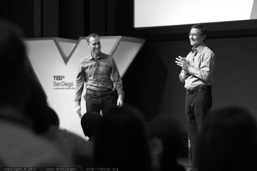 Jack Abbott & Kent McIntosh Close Session 3 of TEDxSanDiego 2012