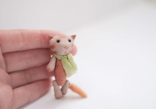cat, 5,5 cm