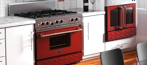 BlueStar Red Oven