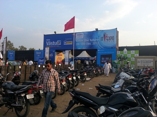 Pune Property Exhibition - Sakal Vastu - Property Expo - December 2012 - 3