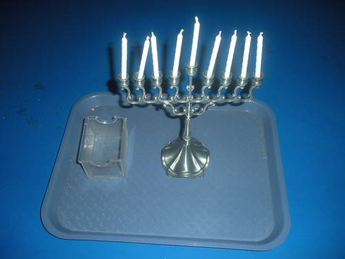 Menorah Tray (Photo from The Work Plan)