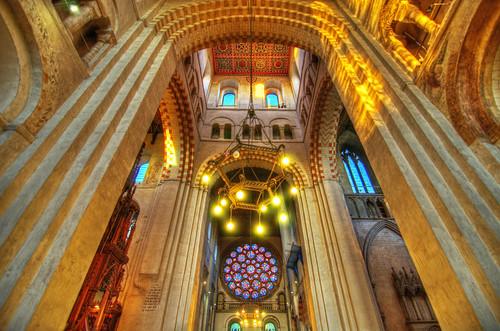 church architecture nikon cathedral hdr hertfordshire stalbans stalbansabbey photomatix stalbanscathedral tokina1116 nikond7000