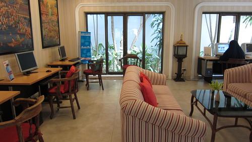 Samui Palm Beach Resort-internet room サムイパームビーチリゾート (1)