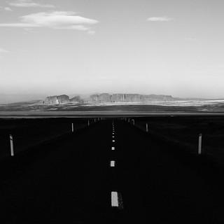 Bjoveguur road, Iceland