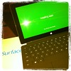 This day turned up! Thanks to @roswald79 for my early birthday present! #whatsinthebox #microsoftsurface #tablet #laptop