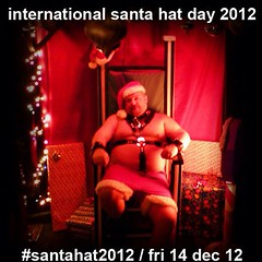 guess what tomorrow is??!! #santahat2012