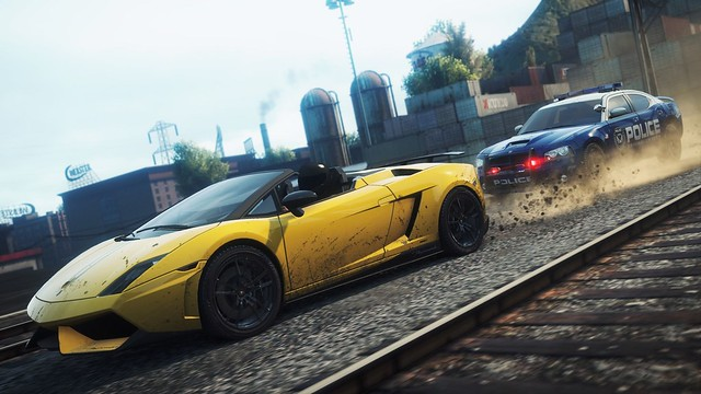 Need for Speed : Most Wanted - Screenshot 2