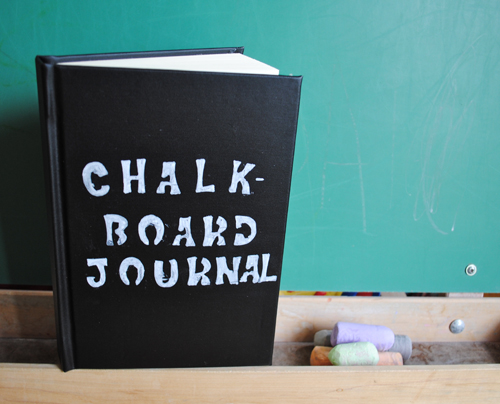 Chalkboard Journal