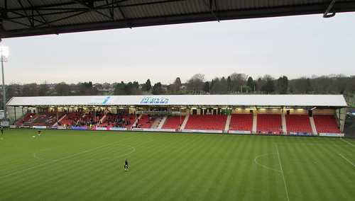 North Stand, East End Park, Dunfermline