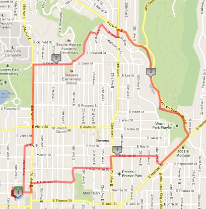 Today's awesome walk, 4 miles in 1:10 by christopher575