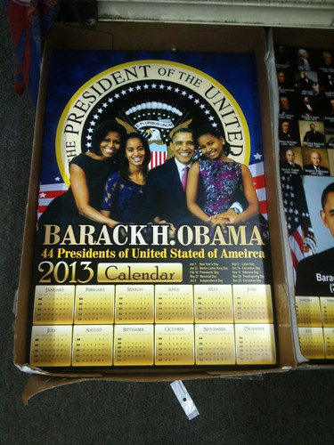 Dollar Store First Family 2013 Calendar