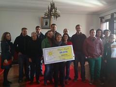 MARIA DOLORES HURTADO GANADORA DEL CHEQUE REGALO VALORADO EN 1000 EUROS