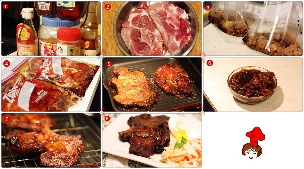 越式烤豬排 Vienamese Grilled Porkchop 2.1