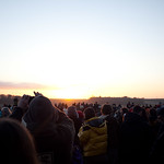 Sunrise on the Solstice at Stonehenge
