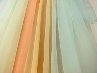 Vanity Fair Rainbow Sherbet Peignoir Set NOS NWT