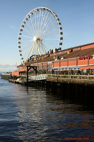 Great Wheel on the Pier by Seattle Daily Photo