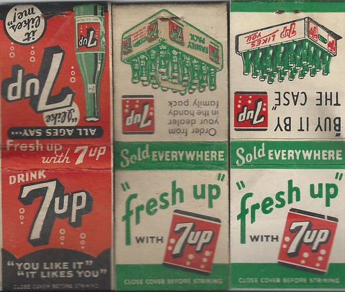 Matchbooks, 7-UP