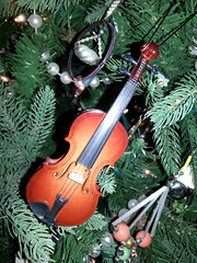 Fiddle Ornament by dean.barnett