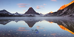 Sunrise Two Medicine Lake by Daryl L. Hunter - The Hole Picture