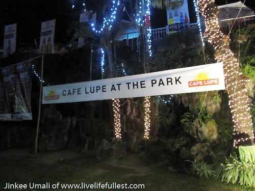 Cafe Lupe at the Park With The Road Trippers