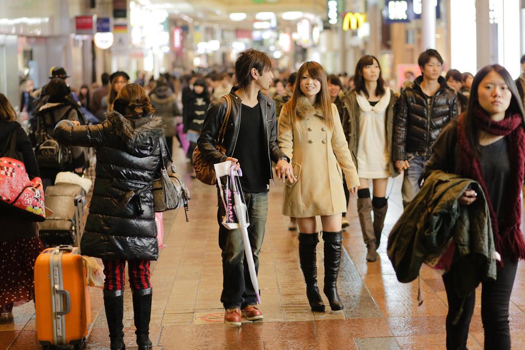 Kanocho 5 Chome, Kobe-shi, Chuo-ku, Hyogo Prefecture, Japan, 0.013 sec (1/80), f/2.5, 85 mm, EF85mm f/1.8 USM