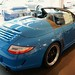 2011 Porsche Speedster Pure Blue 911 997 @porscheconnect 05