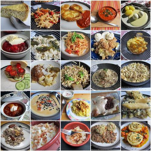 Vegetarische Donnerstage 2. Jahreshälfte