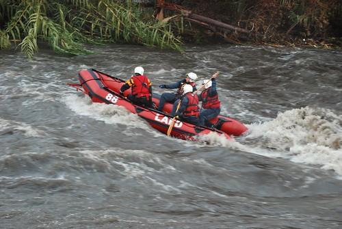 LAFD making LA River rescue