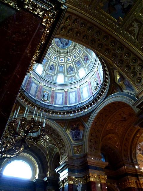 Budapest - jour 1 - 46 - Szent István Bazilika (Basilique Saint-Etienne)