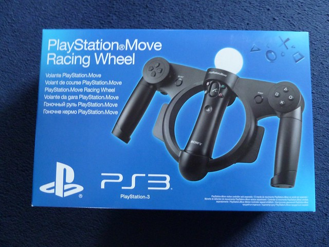 Sony PlayStation Move Racing Wheel